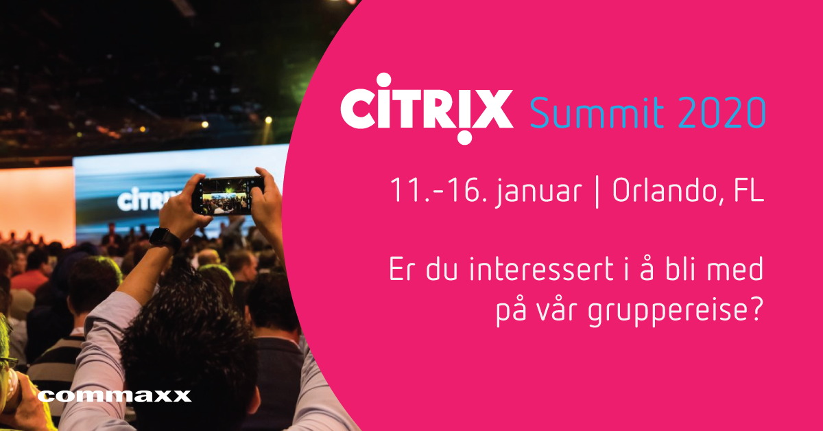 Citrix Summit 2020