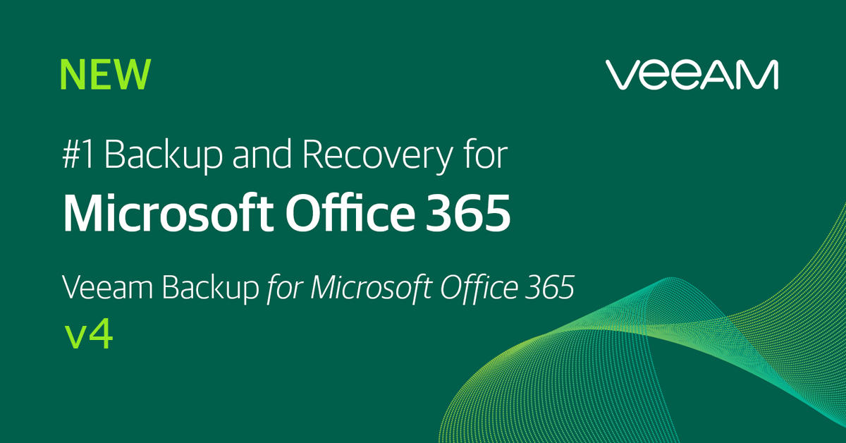 Veeam Bcakup for Office 365 version 4