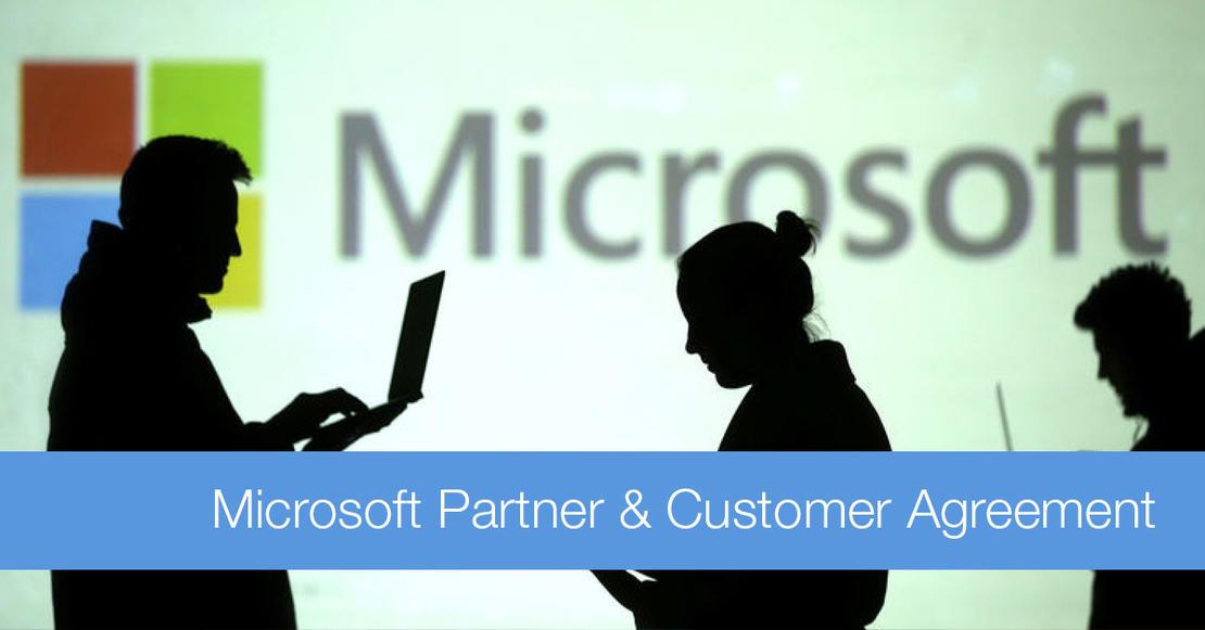 Viktig informasjon vedrørende Microsoft Partner & Customer Agreements