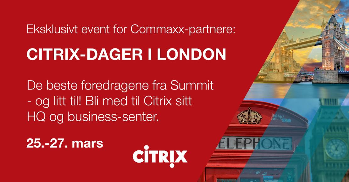 Citrix-dager i London mars 2020
