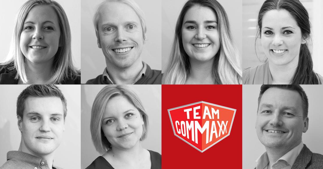Commaxx sitt Microsoft-team