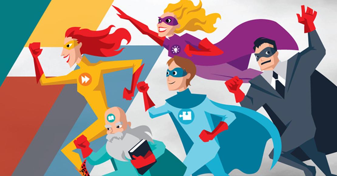 Superheltene i Commaxx