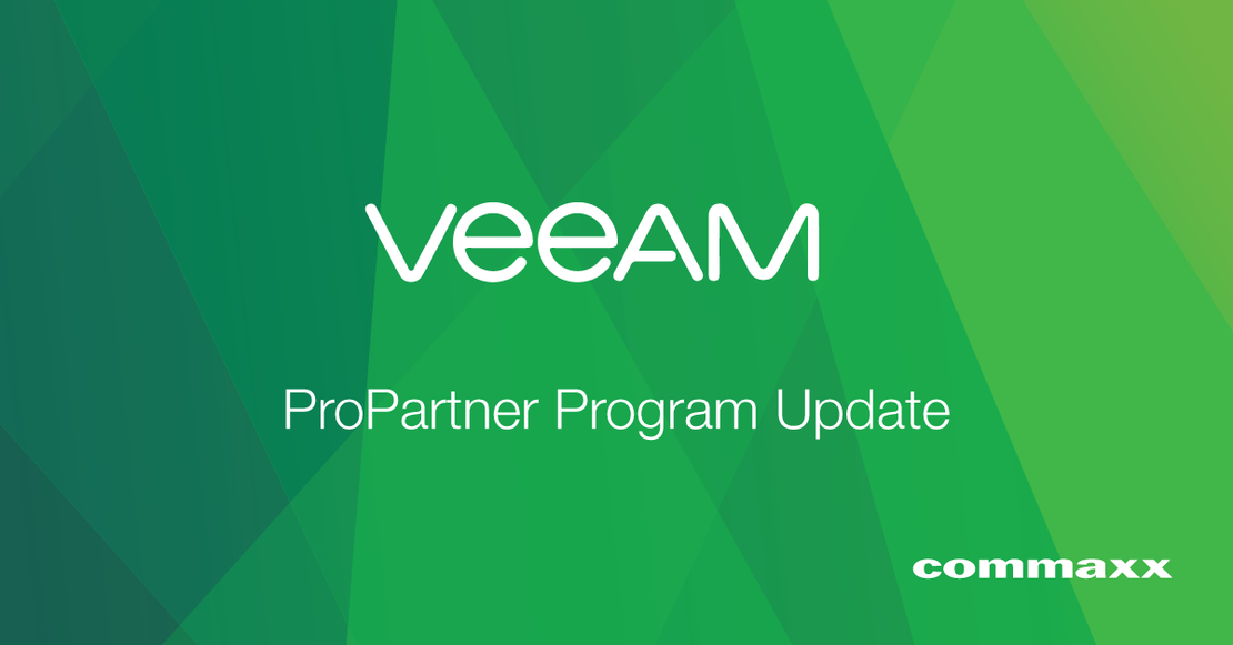 Veeam ProPartner Program Update