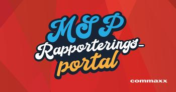 MSP rapporteringsportal Commaxx
