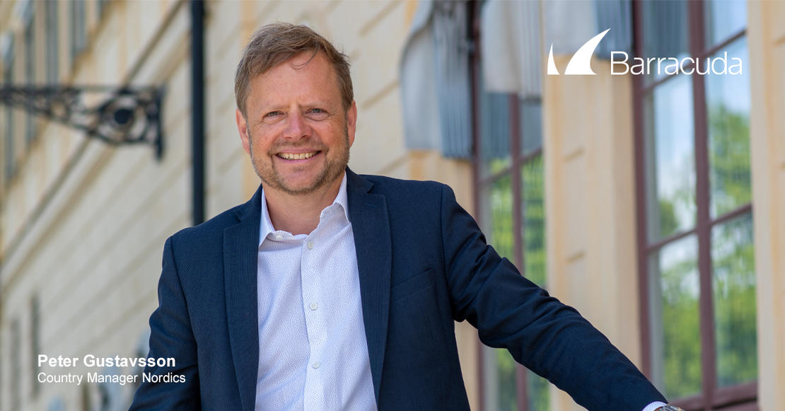 Peter Gustavsson, Barracuda Networks