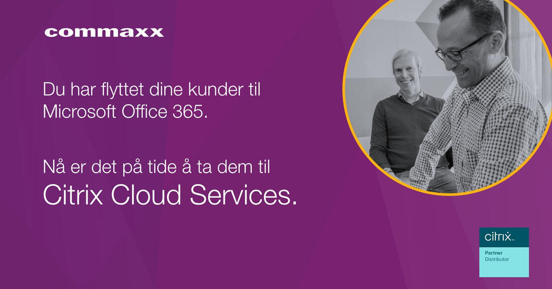 Commaxx salgsguide på Citrix Cloud Services