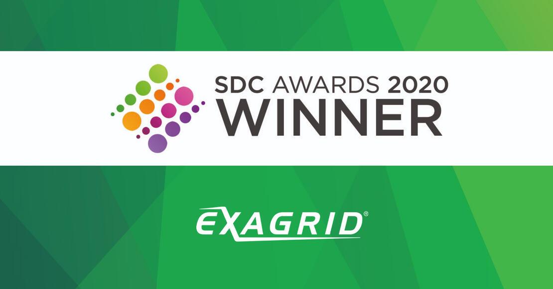 SDC Awards 2020 ExaGrid