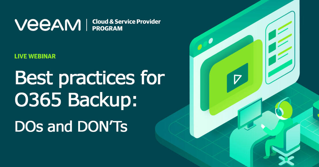 Best practices forOffice365 Backup: TheDo's andDon'ts