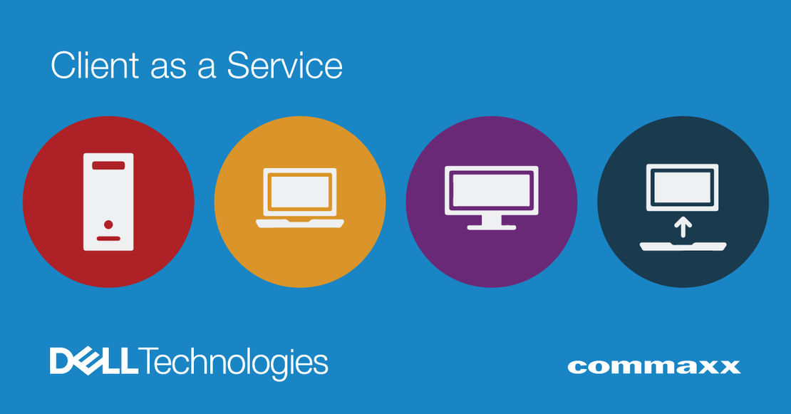 Client as a Service fra Dell Technologies og Commaxx
