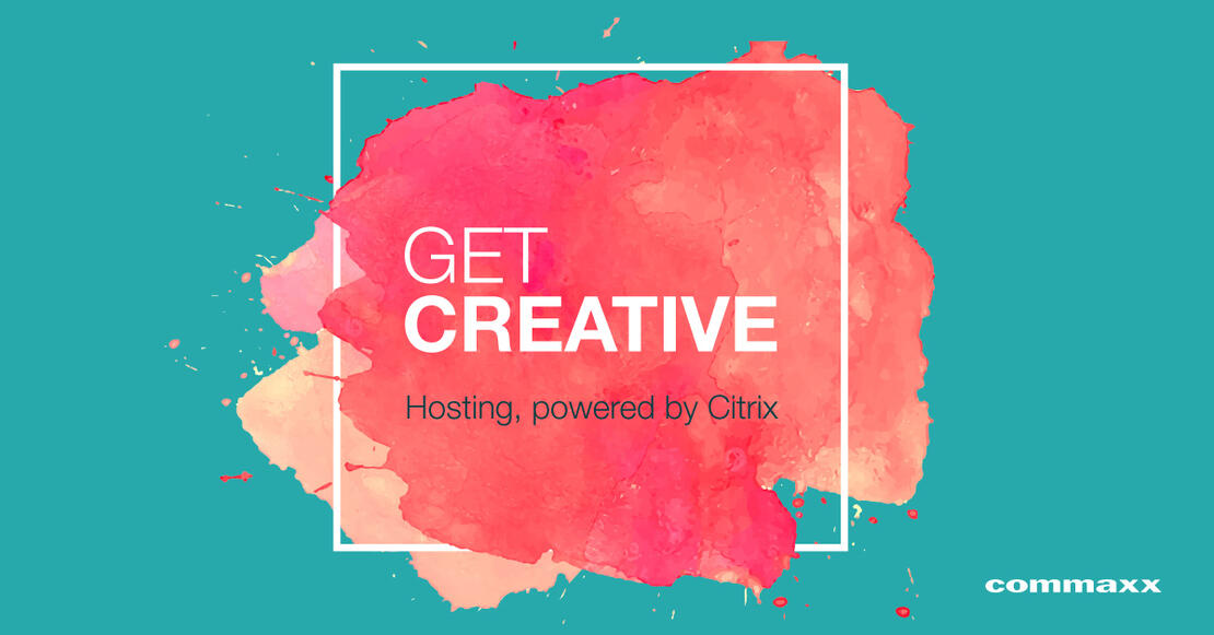 Get Creative, hosting powered by Citrix