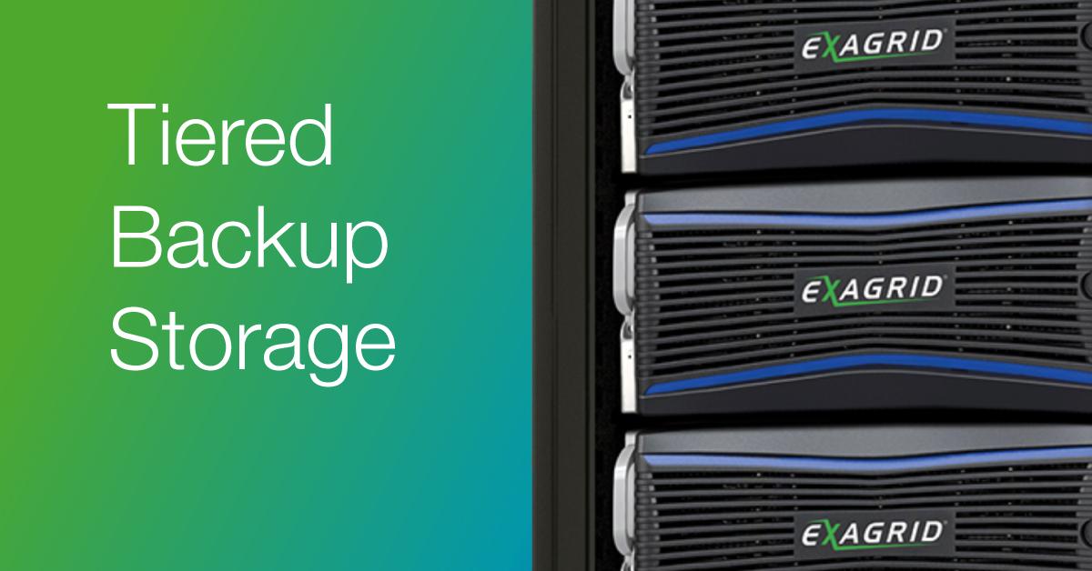 ExaGrid Tiered Backup Storage
