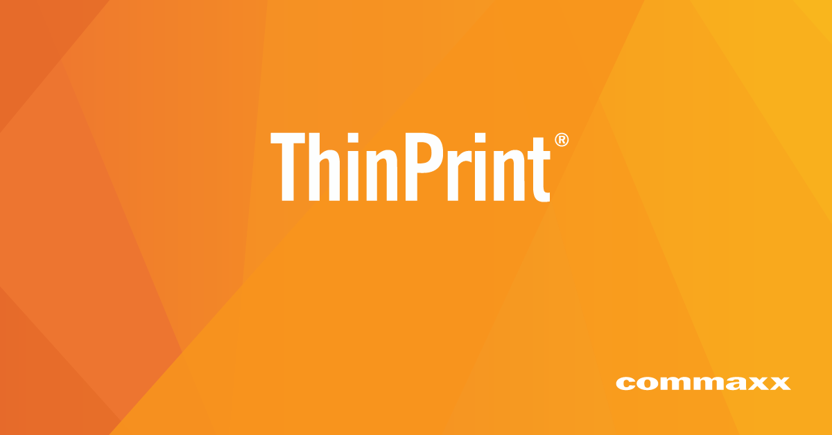 ThinPrint by Commaxx